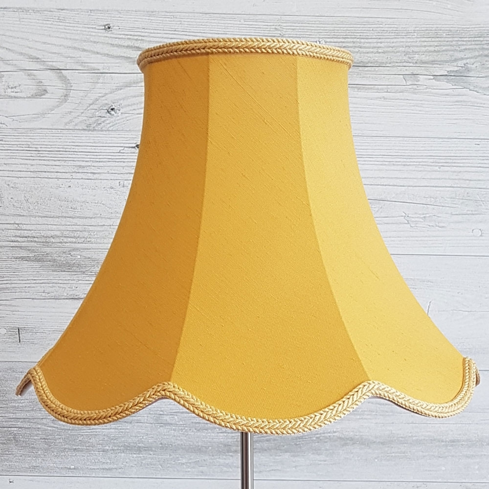 Standard Lamp Shade Gold Dupion